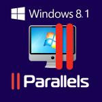 Mac の Parallels Desktop 8 に Windows 8.1 を入れてみた