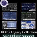 KORG Legacy Collection がいつのまにか 64bit になっていた